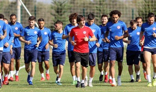 Antalyaspor'da çift antrenman