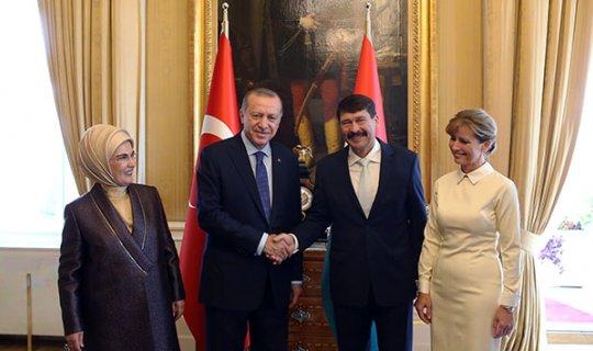 Cumhurbaşkanı Erdoğan, Macaristan Cumhurbaşkanı Ader ile görüştü