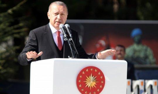 Cumhurbaşkanı Erdoğan mesajı verdi!