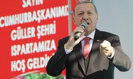Cumhurbaşkanı Erdoğan Isparta'da açıklamalar yaptı