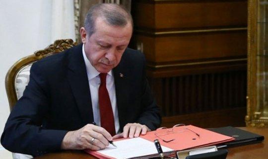 Cumhurbaşkanı Erdoğan OVP'yi onayladı