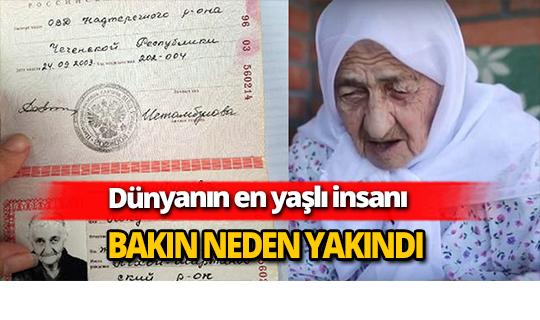 Dünyanın en yaşlı insanı 129 yaşındaki İstambulova…