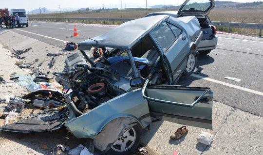 Feci kazada çift hayatını kaybetti