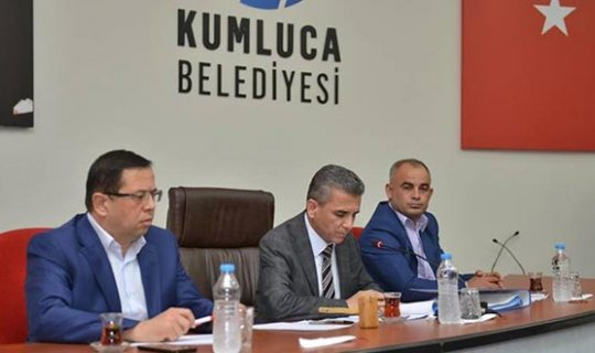 Kumluca Belediye Meclisi toplandı