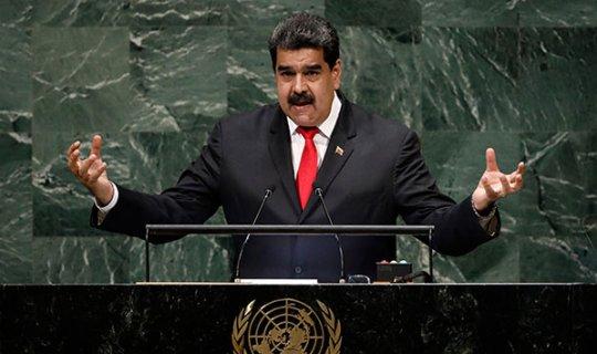 Maduro: 'Trump yönetimi beni öldürtmek istiyor'