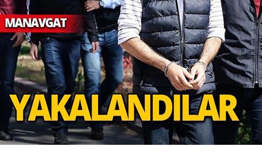 Manavgat'ta kıskıvrak yakalandılar