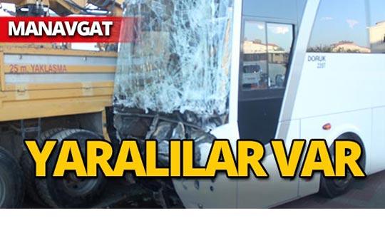 Manavgat'ta korkunç kaza : O anlar kameralara yansıdı!