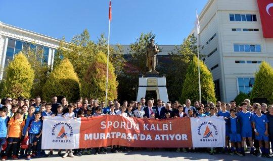 Muratpaşa'ya 2 yeni spor tesisi daha geliyor