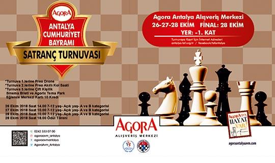 Satrancın küçük ustaları Agora'da yarışacak