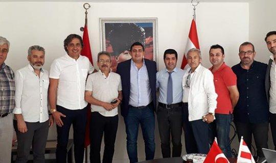 TSYD Antalyaspor'u ziyaret etti