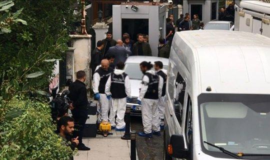 Türk heyet, Suudi Konsolos'un konutuna geldi