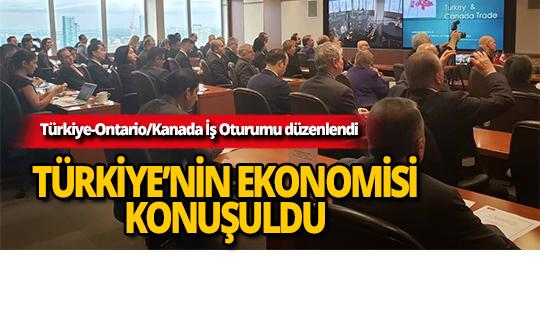 Türkiye-Ontario/Kanada İş Oturumu düzenlendi