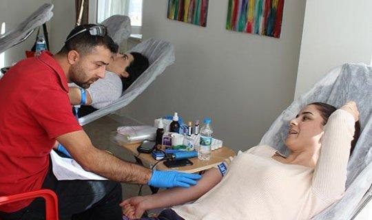 AEDAŞ çalışanlarından Kızılay'a 'kök hücre ve kan bağışı'