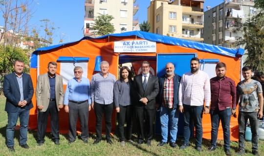 AK Parti, Kepez'de 'Gönül Çadırı'