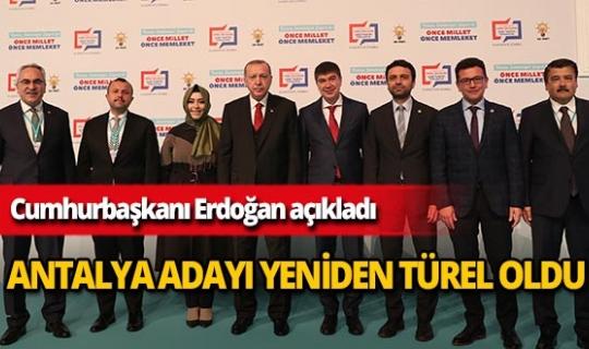 AK Parti'nin Antalya adayı Menderes Türel oldu