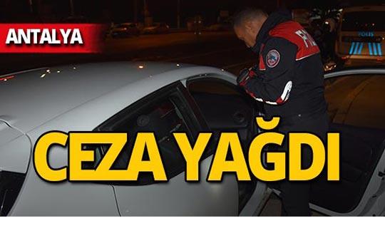 Antalya'da 28 bin 916 lira ceza!