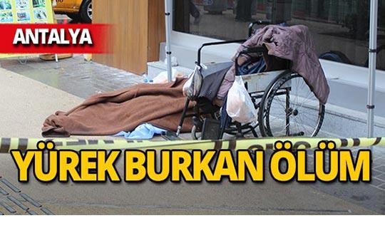 Antalya'da acı ölüm!