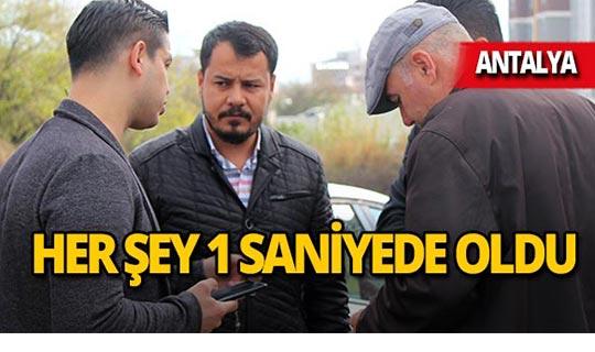 Antalya'da emlakçının zor anları!