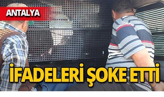 Antalya'da film sahnelerini aratmayan kovalamaca