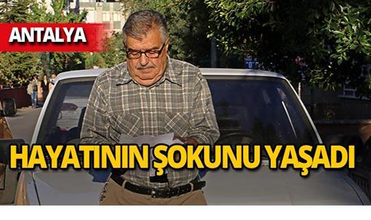 Antalya'da gelen mektupla hayatının şokunu yaşadı!