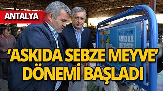 Antalya'da ihtiyaç sahipleri ücretsiz yararlanıyor!