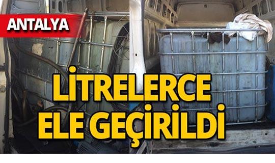 Antalya'da operasyon : 2 kişi gözaltına alındı!
