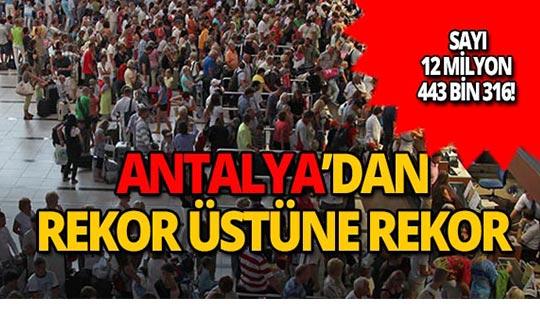Antalya turizminde yüzler gülüyor!