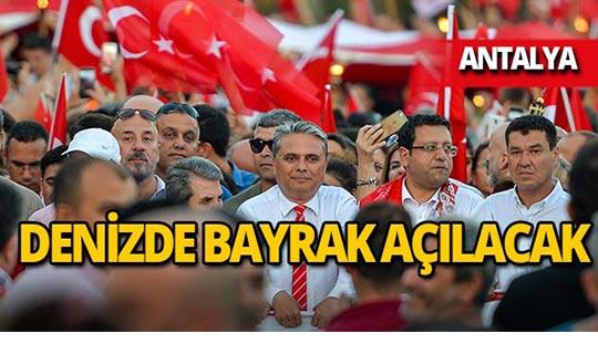 Antalyalılar kilometrelerce yürüyecek!