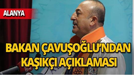 Bakan Çavuşoğlu'ndan flaş Kaşıkçı açıklaması!