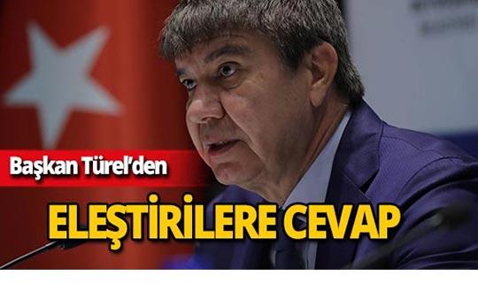 Başkan Türel'den 'Sayıştay Raporu' eleştirilerine cevap!