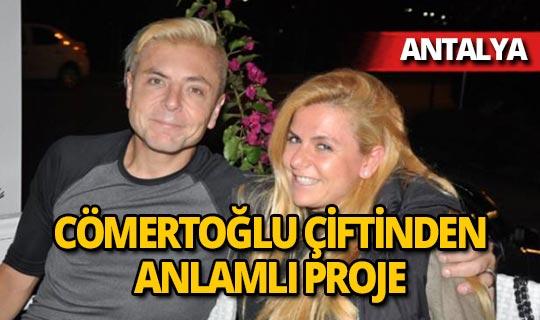 Turizmci Tolga-Manolya Cömertoğlu çiftinden anlamlı proje!