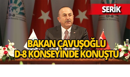 D-8 Dışişleri Bakanlar Kurulu Antalya'da toplandı