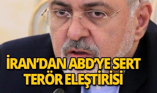 İran Dışişleri Bakanı Zarif'ten ABD'ye sert terör eleştirisi