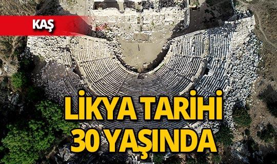 Likya'nın tarihini yeniden yazan kazı 30 yaşında