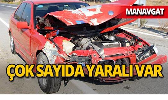 Manavgat'ta faciadan dönüldü : Çok sayıda yaralı var!