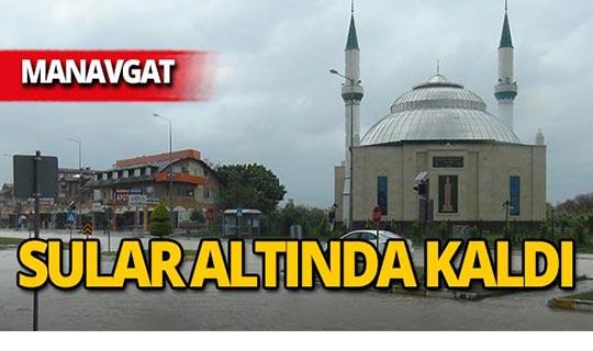 Manavgat'ta o yol trafiğe kapatıldı!