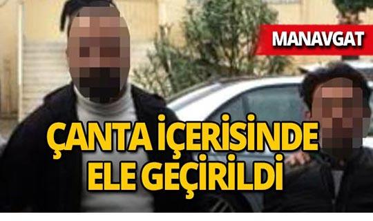 Manavgat'ta operasyon : 2 tutuklama!
