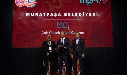 Muratpaşa Belediyesi'ne büyük ödül