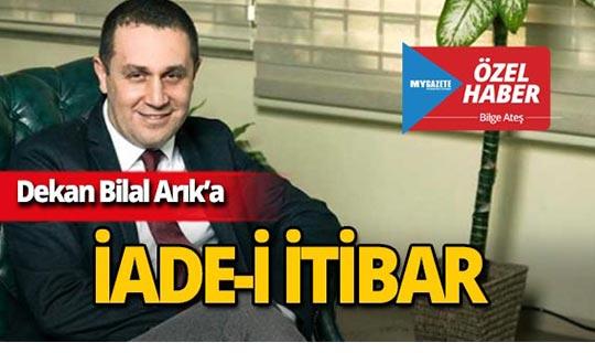 Prof. Dr. Bilal Arık göreve iade edildi!