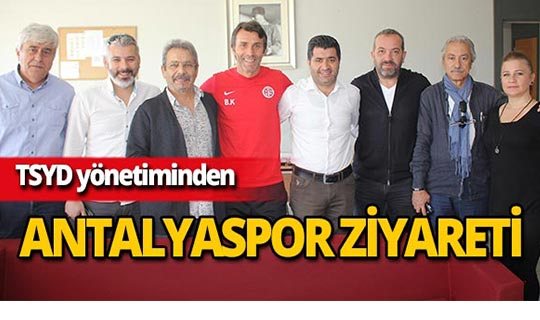 TSYD yönetiminden Antalyaspor'a ziyaret