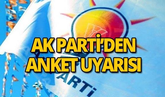 AK Parti uyardı!