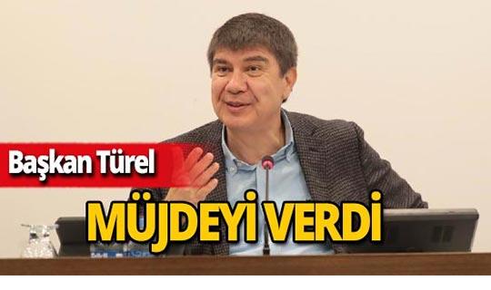 Antalya Büyükşehir Belediye Başkanı Menderes Türel müjdeyi verdi!