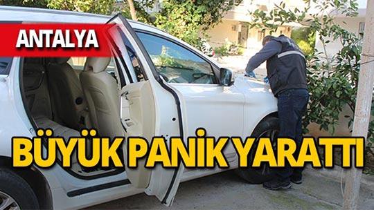 Antalya'da camları kırıp kapıları zorladılar!