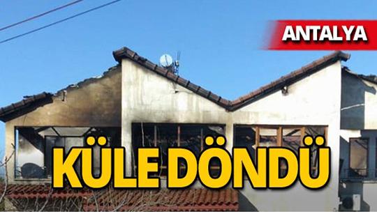 Antalya'da cayır cayır yandı
