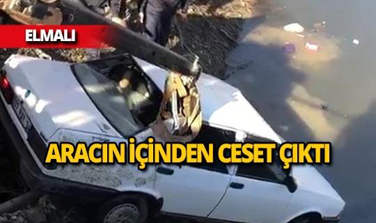 Antalya'da dehşet veren ölüm!