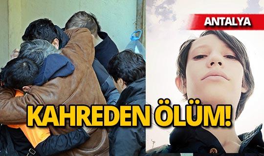 Antalya'da kahreden ölüm