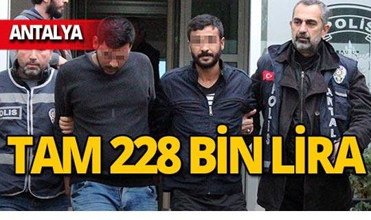 Antalya'da müteahhite dehşeti yaşatmışlardı, kıskıvrak yakalandılar!