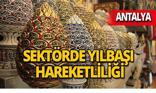 Antalya'da o sektöre yılbaşı dopingi