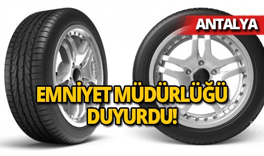 Antalya'da ve 8 ilçesinde aranmayacak!