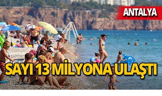 Antalya'da yine yüzler gülüyor